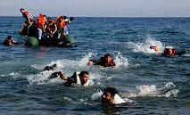300 migrants jetés à la mer