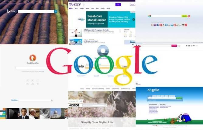 Mesin Pencari Web Paling Populer, google search enggine