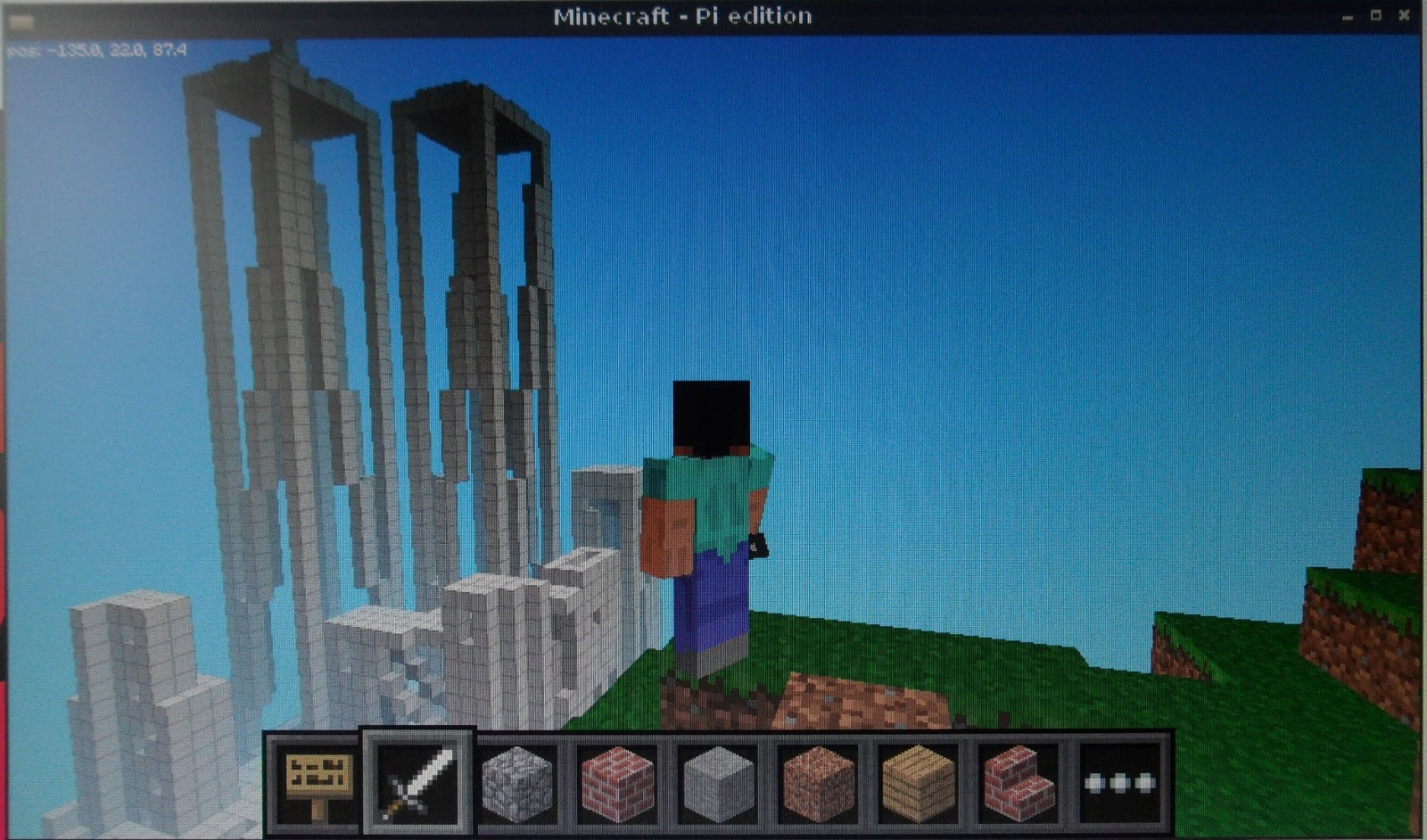 Stuff About Code Minecraft Pi Edition Manhattan Island