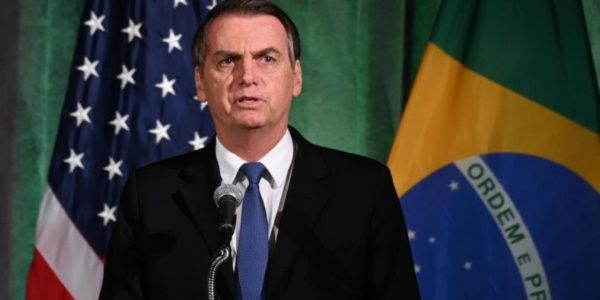 Jair Bolsonaro visita la CIA en su gira en EE.UU.