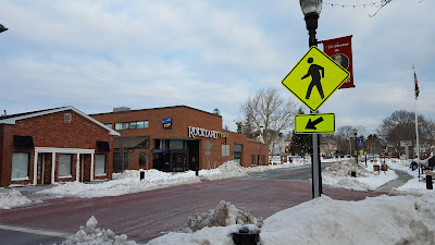 large street crossing downtown Franklin