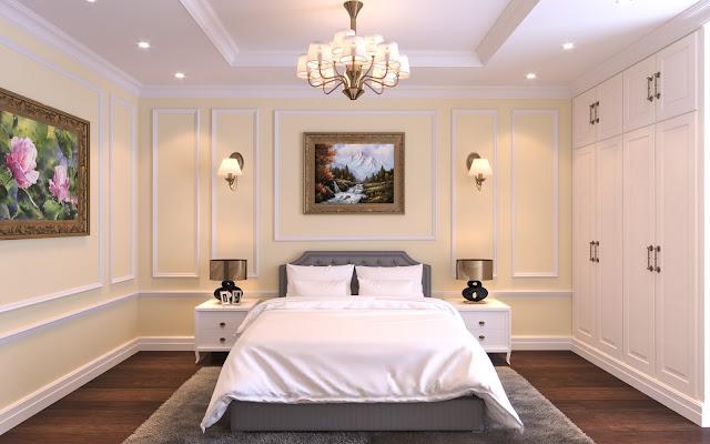 Thiết kế nội thất phòng ngủ căn hộ Iris Garden