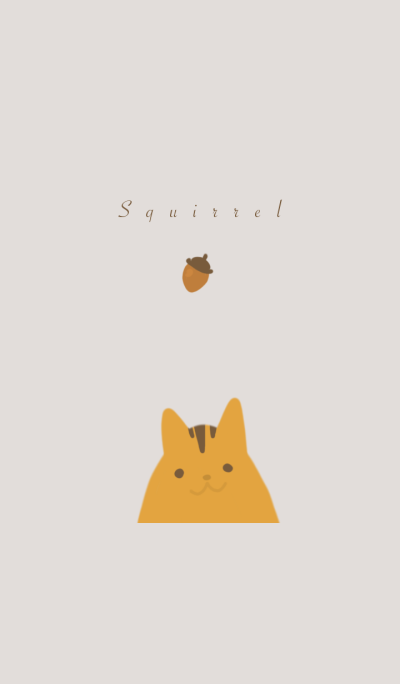Squirrel and Acorn.