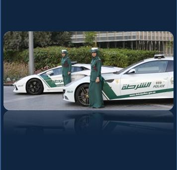 Dubai Police Cars are Ferrari FF, Mercedes SLS, Bentley