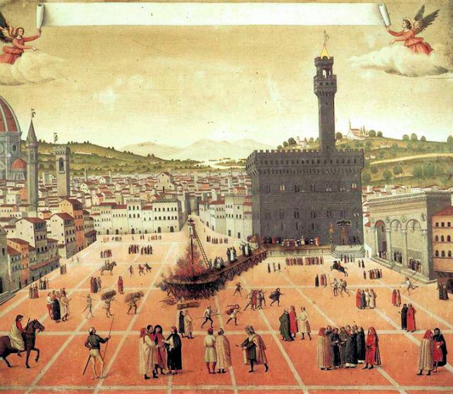 Piazza della Signoria and the Palazzo Vecchio