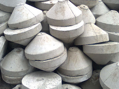 Bloque de concreto para anclaje