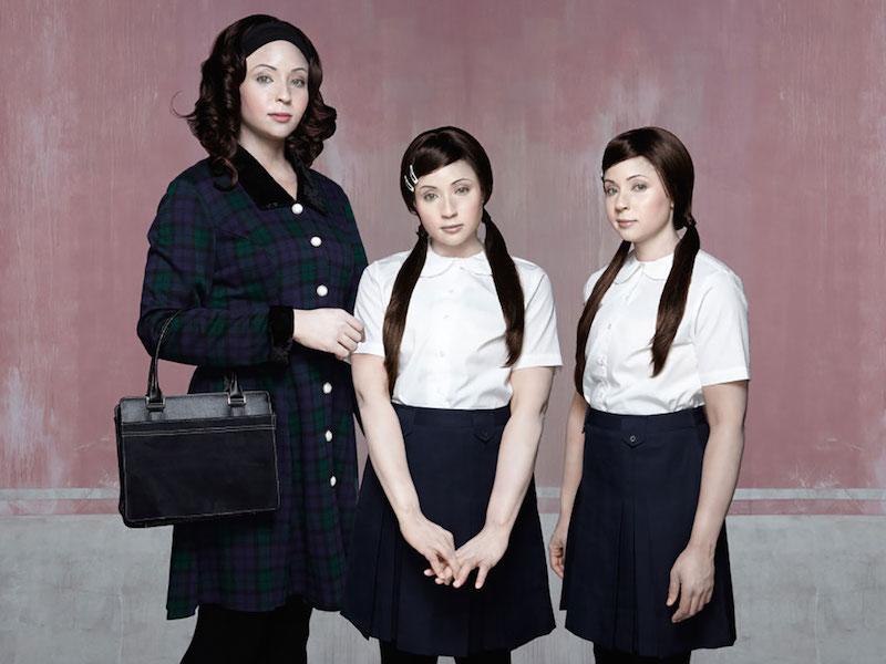 Bonnie, 35yrs. and Twins Lara & Maisie, 9yrs. (2011)