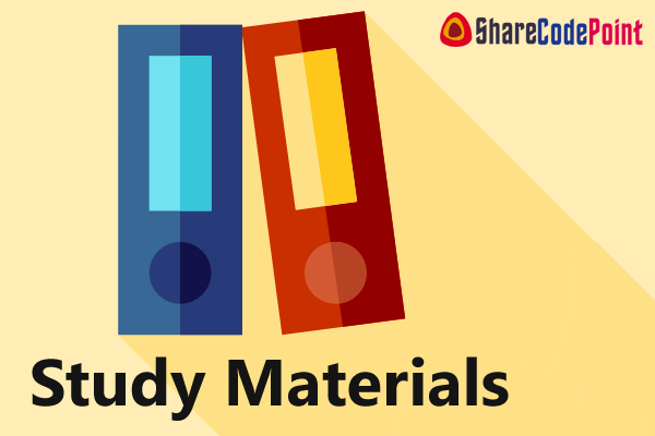MEC306 : DESIGN OF MACHINE ELEMENTS -2 Study Material Notes - MEC 306