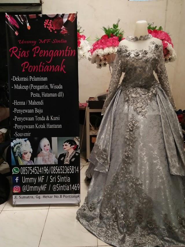 Ummy MF Sintia Rias Pengantin Pontianak