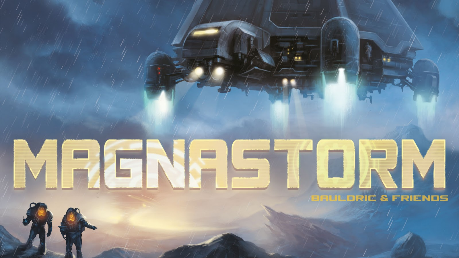 Polyhedron Collider Board Game News - GAME ANNOUNCEMENT: MAGNASTORM