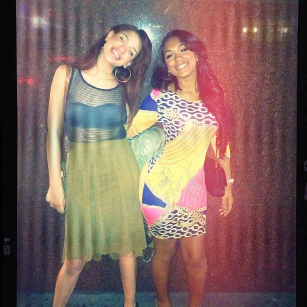 (Pictures) @Yaris_Sanchez and her girl Cheryl.(@Cheril_Snatchez)..A collage of pics..