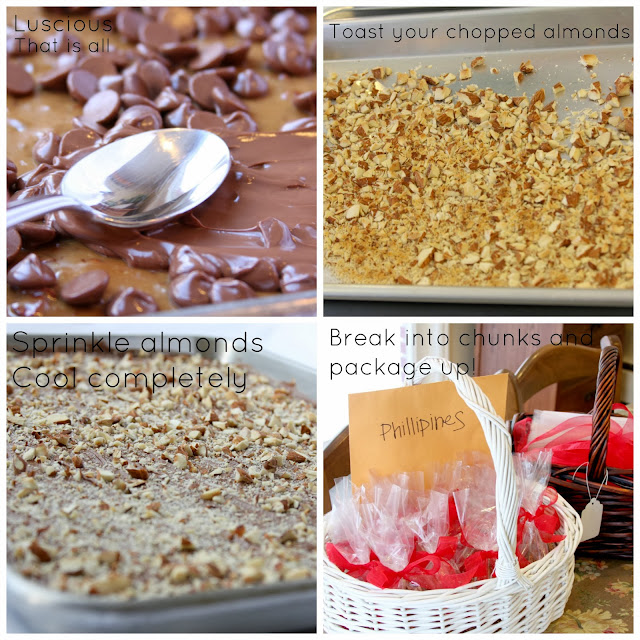 The BEST English Toffee recipe!  Step by step tutorial for candy making novices too.  YUM!