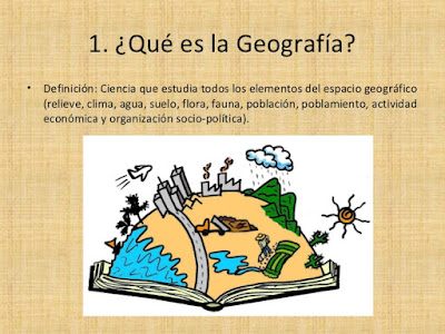 definicion geografia