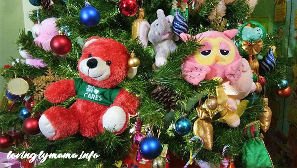 DIY Christmas decorations - stuffed toys and teddy bears