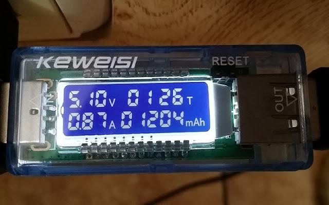 USB kiểm tra Vol Cho sạc điện thoại