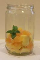 Mango, mandarijn en munt