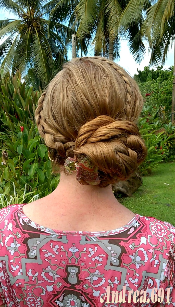 Braids   Hairstyles for Super Long Hair  Lace braids and a side bun     Then I added a single lace braid on the opposite side  and brought  everything together in a big side bun  Thank you for visiting my blog