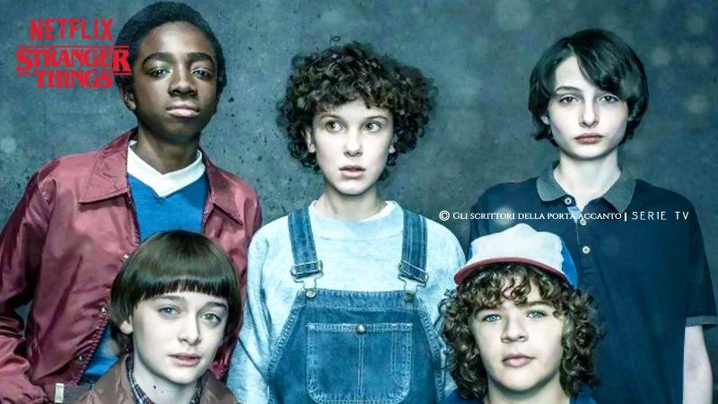 Stranger Things, una serie sci-fi horror di Netflix - Serie TV, Gli scrittori della porta accanto