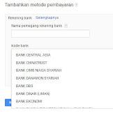 Cara Menerima Pembayaran Dari Google Adsense Paling Mudah