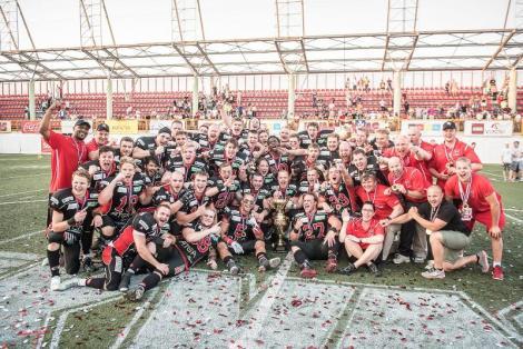 FÚTBOL AMERICANO - IFAF Champions League 2015: Crusaders dio un repaso al Belgrade y se lleva la final