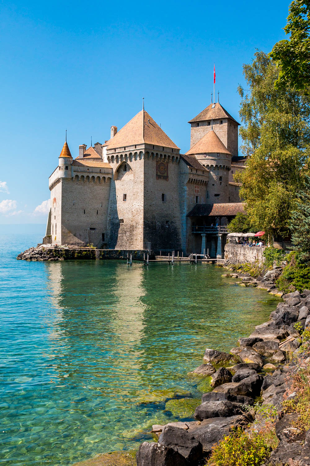 Chateau de Chillon in Switzerland