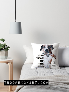 Year of the Dog 2018 Pillow