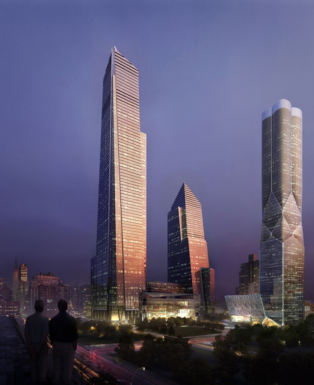 Manhattan To New York City: World Of Architecture: Hudson Yards: New Neighborhood For