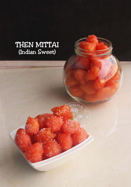 THAEN MITTAI THAEN NILAVU then unda thennilavu sweets indian kerala village sweets mittai honey sugar candy ayeshas kitchen thenaru