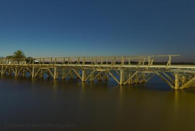 Woodbridge Island Old Wooden Bridge Long Exposure Photography Canon EOS 6D Vernon Chalmers Copyright