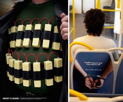 Publicidad creativa y divertida.