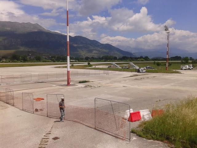 Γιάννενα: Κλείνει η αερολέσχη,για να κατασκευαστεί νέο πάρκιγκ αυτοκινήτων στο αεροδρόμιο
