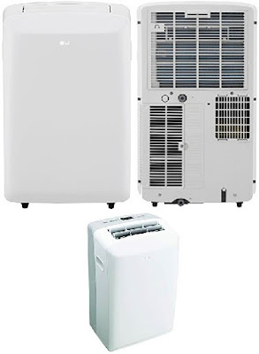 Portable Air Conditioner with Remote Control - LG