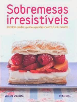 livro sobremesas irresistiveis