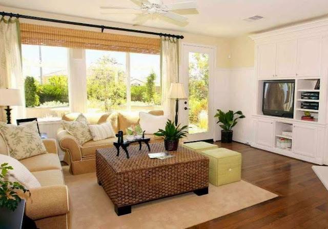 gambar dekorasi ruang tamu minimalis yang sederhana