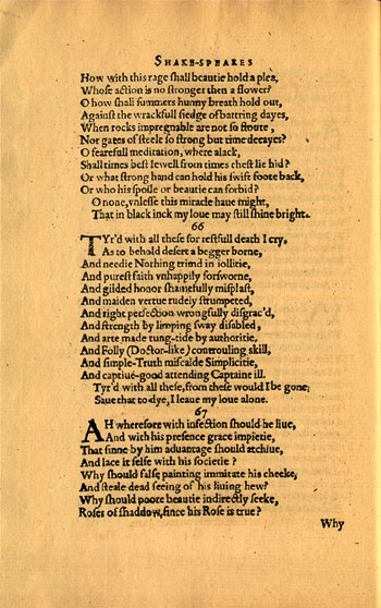 Sonnet 116 And To His Coy Mistress