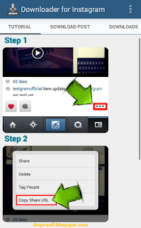 download video instagram di android mudah