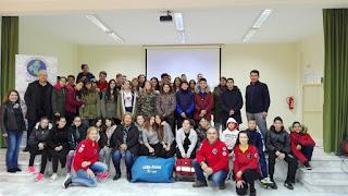 Παρουσίαση Α΄ Βοηθειών από τη Διασωστική Ομάδα Πιερίας στο Γυμνάσιο των Αλωνίων