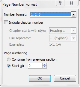 cara edit page number