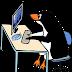 Felicita la Navidad con el Pinguino
