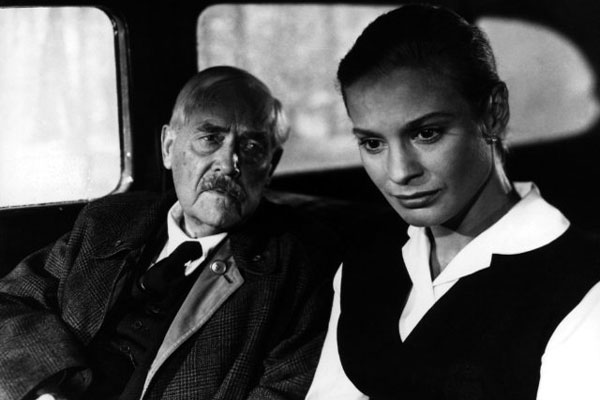 Victor Sjöström and Ingrid Thulin in Wild Strawberries