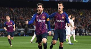 برشلونة يقسوا على مانشستريونايتد فى كامب نو