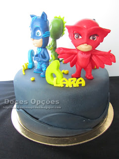 birthday PJ Masks cake