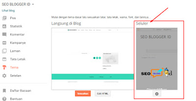 Cara Agar Tampilan Blog Di Handphone Sama Seperti Versi Desktop
