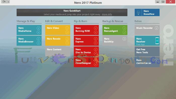 Nero 2017 Platinum Full Version