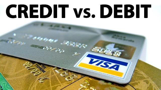 الفرق بين Debit card و Credit card وايهما افضل