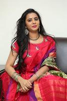 Manasa in Pink Salwar At Fashion Designer Son of Ladies Tailor Press Meet Pics ~  Exclusive 43.JPG
