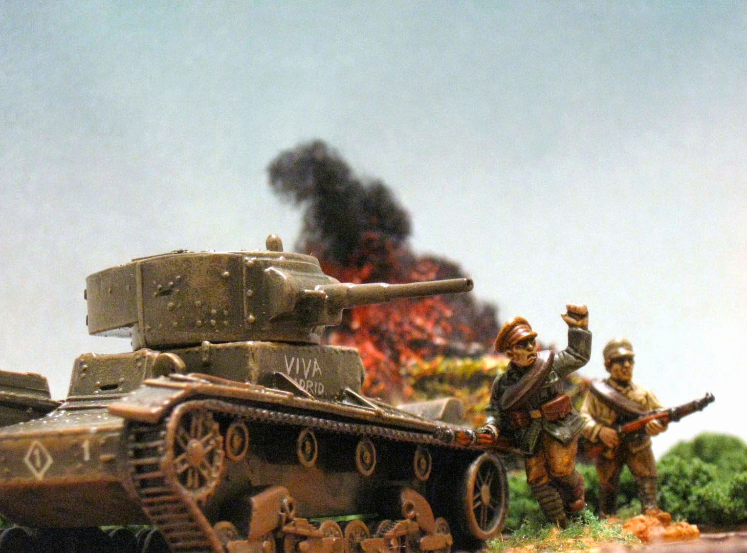 The Spanish Civil War In 28mm