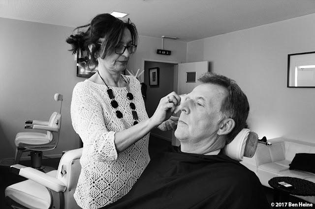 François de Brigode - maquillage RTBF - Pascale Dero - Portrait par Ben Heine 2017