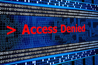 Access denied graphic