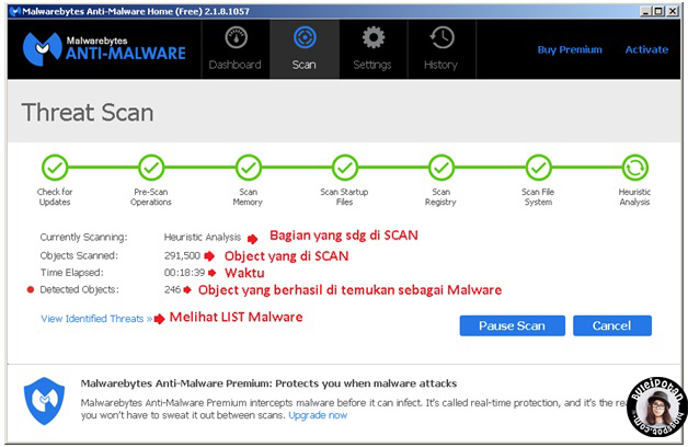 scan with Malwarebytes- Anti Malware